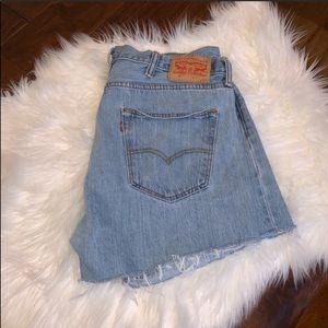 Vintage Levi's Cut Off Denim Shorts Levi's 501